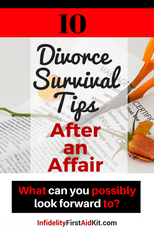 Should i get a divorce after an affair