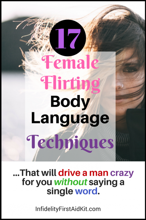 flirting moves that work body language quotes for american women