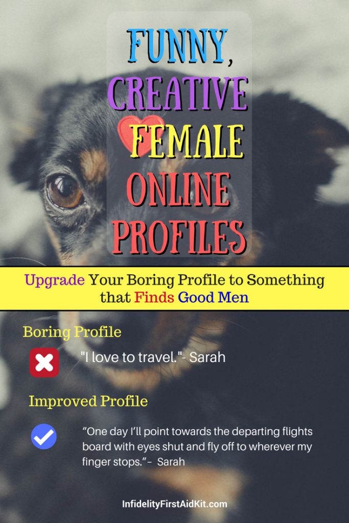 examples of great female online dating profiles over 50s dating reviews uk