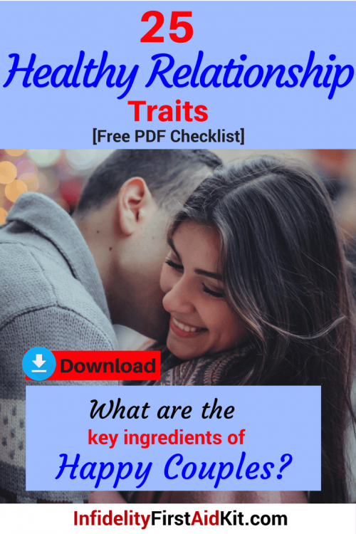 25 Healthy Relationship Traits [Free PDF Download] Keys to Happy