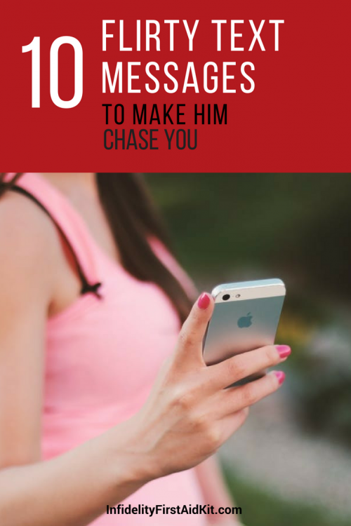 Examples of flirty texts to a guy