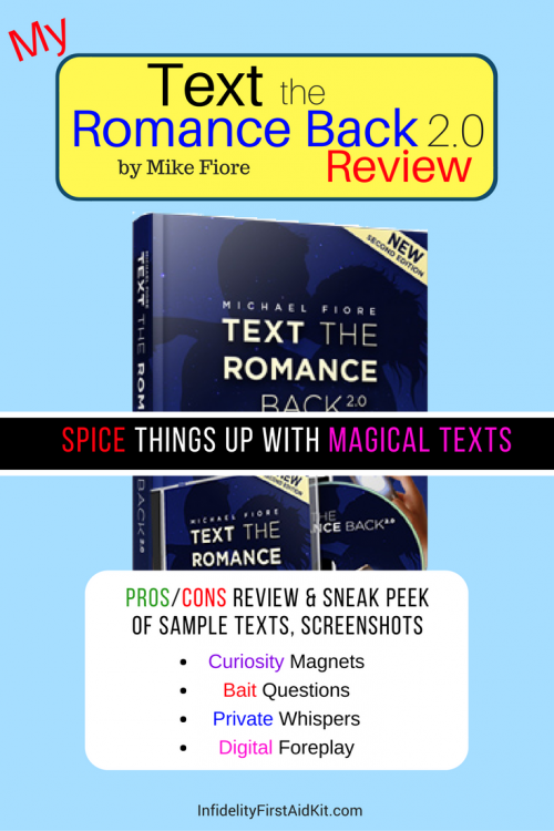 80d548fc0bd Text the Romance Back 2.0 Review  Mike Fiore Full of S--- or Text Guru