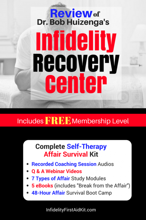 Review of Dr  Huizenga's Infidelity Recovery Center: Is this