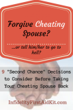 "Forgive Cheating Spouse? 9 ""Second Chance after Cheating"" Decisions"