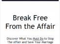 Break Free from the Affair Review: Waste of Money or Helpful Tool?